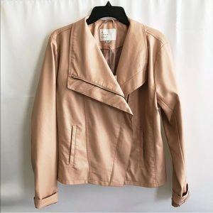 Women's faux leather jacket XXL -NWT